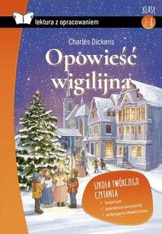 Lektura z opracowaniem - Dickens Charles Christmas Carol, Cover, Books, Libros, Christmas Music, Book, Book Illustrations, Libri