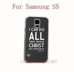 Christian hard Style Case Cover for Samsung Galaxy S5 S4 S3 I9600 I9500 I9300 1PC