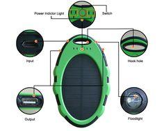 Hot selling waterproof solar power bank--Kingood Solar