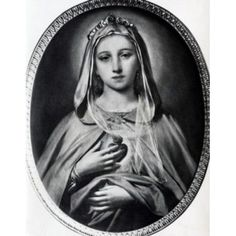 "theraccolta: "" The Immaculate Heart of Mary by Nicolo Barabino """