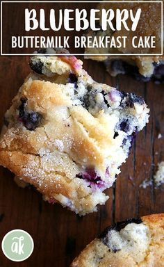 Buttermilk Blueberry Breakfast Cake Buttermilk Blueberry Breakfast Cake — this simple cake is a family favorite. I look forward to making it every spring/summer when the blueberries begin arriving at the market, but it works well with frozen berries, too. Breakfast Hotel, Breakfast Bake, Breakfast Dishes, Breakfast Items, Perfect Breakfast, Blueberry Buttermilk Breakfast Cake, Blueberry Desserts, Blueberry Bread, Buttermilk Coffee Cake