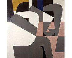 Yannis Moralis / Γιάννης Μόραλης is an outstanding figure in Modern Greek painting. He became a professor at the Sc. Geometric Painting, Geometric Art, Abstract Art, Art And Illustration, Greek Paintings, Ecole Art, Art Brut, Street Art, Collage