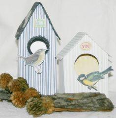 Vogelhäuschen aus Tetra Paks