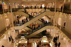 Compras em Paris: Lojas de Departamento - Viajoteca