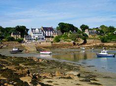 Photo : L'arrivée à Bréhat,  Mers et plages, Îles, Maisons bretonnes, Ile de brehat. Toutes les photos de géraldine deveau sur L'Internaute