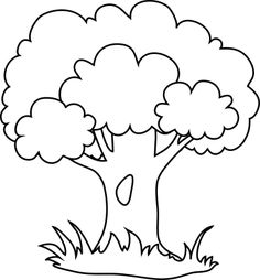 ideas embroidery patterns for baby templates crafts Tree Coloring Page, Animal Coloring Pages, Colouring Pages, Coloring Pages For Kids, Coloring Books, Art Drawings For Kids, Easy Drawings, Tree Drawing For Kids, Embroidery Patterns