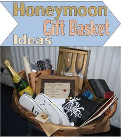 Send A Wedding Gift Basket : from unique gifter honeymoon gift basket ideas honeymoon gift basket ...
