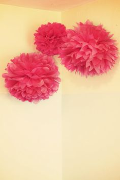 Super easy, quick, diy tissue paper puff balls. Also very easy to follow instructions
