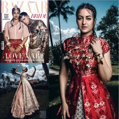 """Sonakshi Sinha's """"Harper's Bazaar Bride"""" Cover Will Get You Hot And Bothered"""