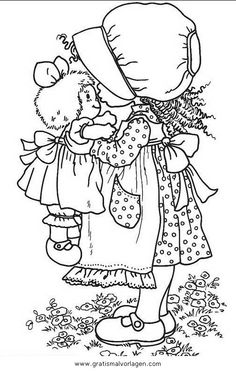 1000 images about sarah kay on pinterest sarah kay for Holly hobbie coloring pages
