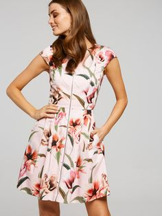 Like A Dream Sateen Dress