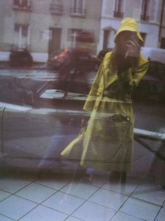 self portraits with trench | Paolo Roversi | Vogue Italia