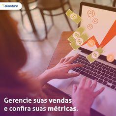 Monitore suas vendas e saiba em que etapa do funil encontram-se as oportunidades de negócios de sua empresa. https://atendare.com/br/inicie-gratis