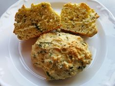 Southern Forager: Wild Garlic Chives and Ground Ivy Drop Biscuits