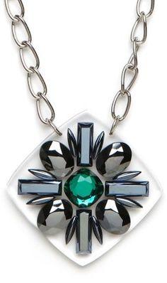 Emerald Starburst Necklace