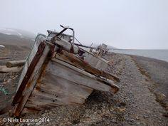 Beached shipwreck, Hjortshamn