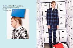 MR Magazine's Office Fashion Story Boasts Dapper Business Attire #fashion trendhunter.com