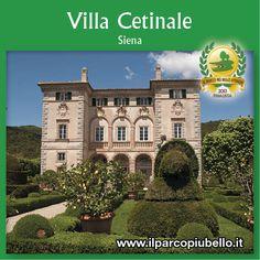 VILLA CETINALE (Siena)    Uno dei 10 Parchi Più Belli d'Italia 2013!