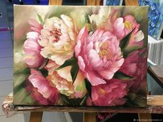 Oil painting Flowers art colorful artwork canvas rose art black and white silicoil jar cheap oil paintings for sale Oil Painting Flowers, Abstract Flowers, Watercolor Flowers, Flower Paintings, Oil Paintings, Paint Flowers, Watercolor Artists, Indian Paintings, Watercolor Illustration