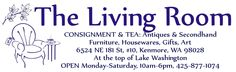 The Living Room: Great consignment store.