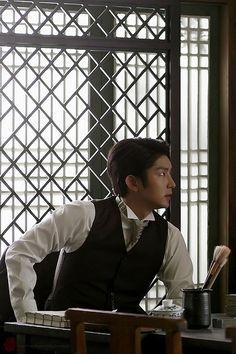 Lee Joon Gi - Gunman in Joseon Lee Joongi, Lee Jun Ki, Korean Drama Movies, Korean Actors, Big Bang Top, Wang So, Jung Yong Hwa, Moon Lovers, Joon Gi