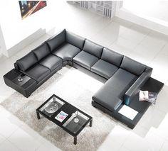 Mueble diseñado para el tamaño de la sala