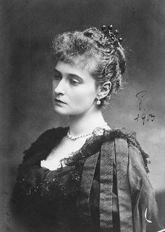 Empress Alexandra Feodorovna (Alix) (1872-1918).