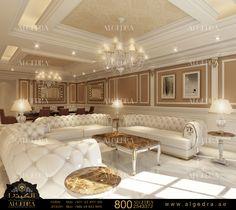 Luxury Interior Design Dubai, Interior Design Company in UAE Flur Design, Hall Design, Interior Design Dubai, Interior Design Companies, Interior Design Living Room, Living Room Designs, Drawing Room Interior, House Ceiling Design, Interior Exterior
