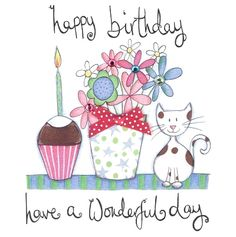- Happy Birthday Funny - Funny Birthday meme - - The post appeared first on Gag Dad. Happy Birthday Vintage, Happy Birthday Wishes Cards, Happy Birthday Flower, Happy Birthday Pictures, Birthday Wishes Quotes, Happy Birthday Funny, Cat Birthday, Belated Birthday, Birthday Clips