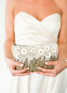 Vintage Beaded Clutch | photography by http://www.lindsaymaddenphotography.com