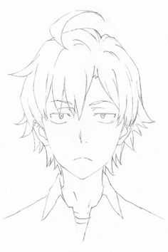 Hikigaya's new design… this one is better he's kinda handsome :p