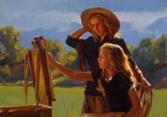 Michael Malm 1972 | American Figurative painter - reminds me of Robert Duncan