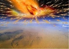 Evidence discovered of comet entering Earth's atmosphere and exploding