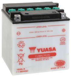 Yuasa YUAM22H30 YB30L-B Battery #carscampus