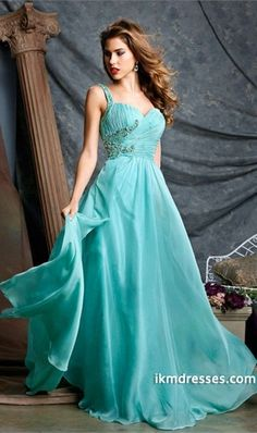 http://www.ikmdresses.com/2014-Prom-Dress-Spaghetti-Straps-Low-Back-Pleated-Bodice-A-Line-Chiffon-p84545