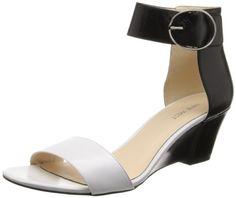Nine West Women's Ventana Leather Wedge Sandal,Black/White,7.5 M US Nine West http://www.amazon.com/dp/B00GUQZALC/ref=cm_sw_r_pi_dp_8VLWtb0J6H186JTB