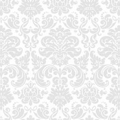 Papel de parede clássico em cores cinza e branco 007