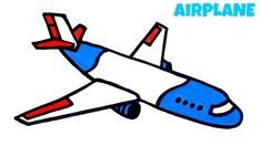 How to Draw an Airplane Easy Step by Step Easy Drawings For Beginners, Channel Art, Learn To Draw, Cartoon Art, Art Tutorials, Airplane, Make It Yourself, Notebooks, Learn How To Draw