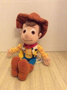 Disney Baby Woody Beanbag 9 Inch Toys Story Stuffed Animal #Disney