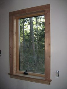 window trim | Mark and Kim's Building Blog: Tiling, wainscotting and window trim