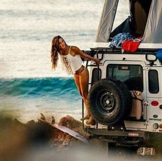 Ok....yes, wait was there a question in there? #landrover #beach #camping