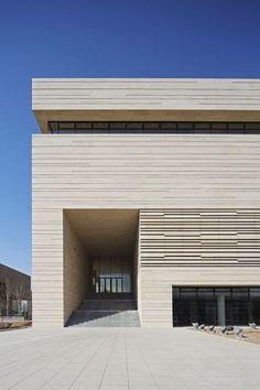 v-architecture-photos:  KSP_Tianjin_Art_Museum_exterior2_s