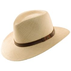fc1244988c6 Feel luxurious in this beautiful hat made of woven Panama straw. The exotic  look and