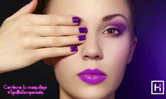 Combina tu maquillaje ya sea con el esmalte de tus uñas o con tu outfit. #TipsDeTemporada #HairLoft Facebook Sign Up, Beauty, Enamels, Make Up, Cosmetology