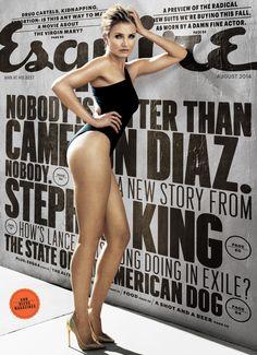 Cameron Diaz for Esquire, 2014