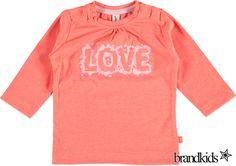 Babyface Longsleeve roze - Meisjes Baby T-shirts lange mouw €11,95