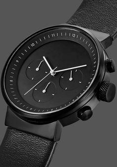 Projects Kiura Chrono Black Watch (5160B-BL40)