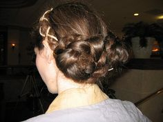 """princess leia costume"" (Specifically, Endor Leia hair.)"