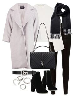Untitled #3222 by theeuropeancloset on Polyvore featuring polyvore, fashion, style, Rejina Pyo, Boohoo, rag & bone, Yves Saint Laurent, Forever 21, Gucci and clothing