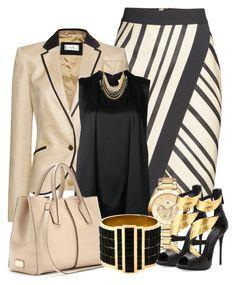cream&black by starpretygirl on Polyvore featuring polyvore fashion style 3.1 Phillip Lim MANGO H&M Giuseppe Zanotti Tod's Alexander McQueen Tommy Hilfiger clothing